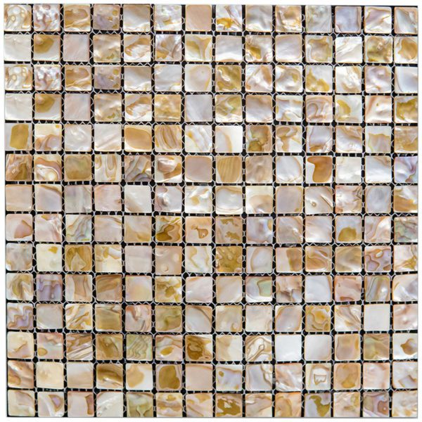 SEASHELL 12X12 BIANCO/GRIS/ANTIQUE