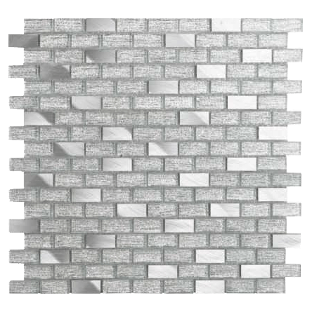 Mini brick glass mosaic P1