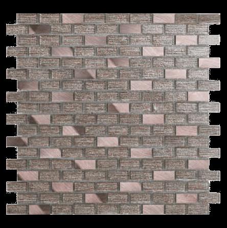 Mini brick glass mosaic P2