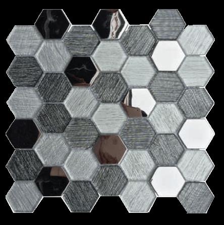 hexgonal glass mixed p1