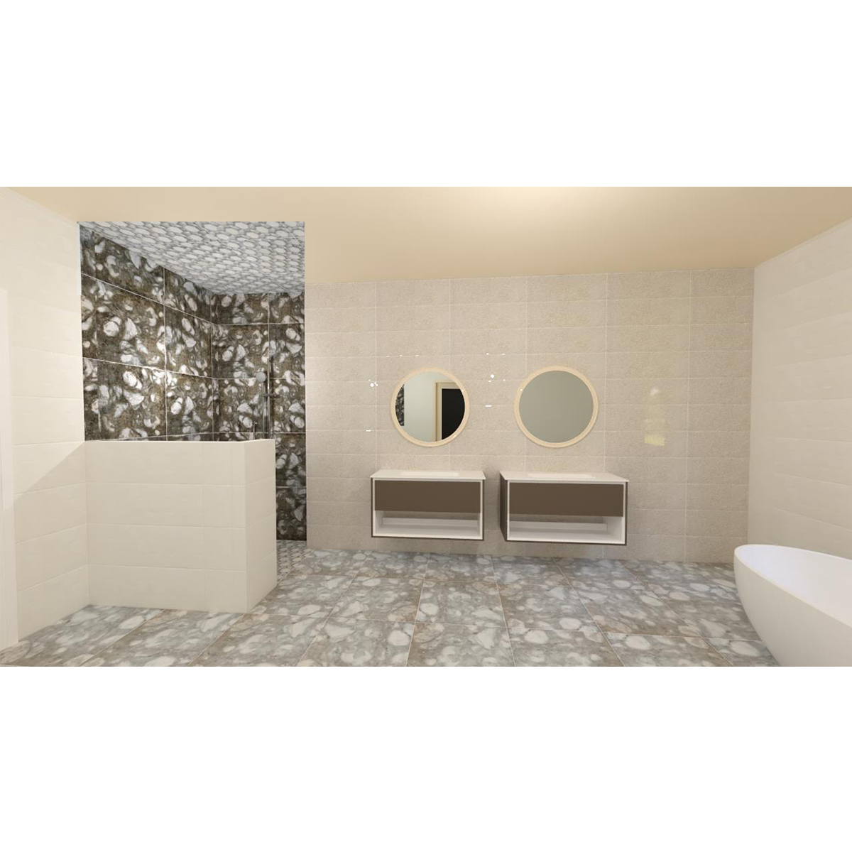 MASTER ENSUITE BATHROOM 3