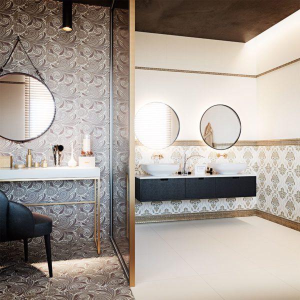 Astoria maroon - Agate tile edmonton