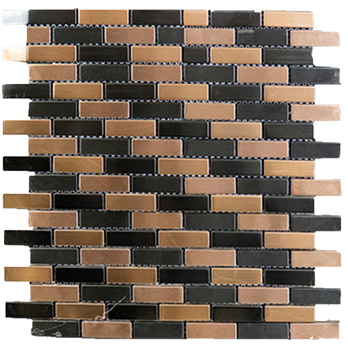 TALISMAN 12X12 COPPER STEEL BLACK