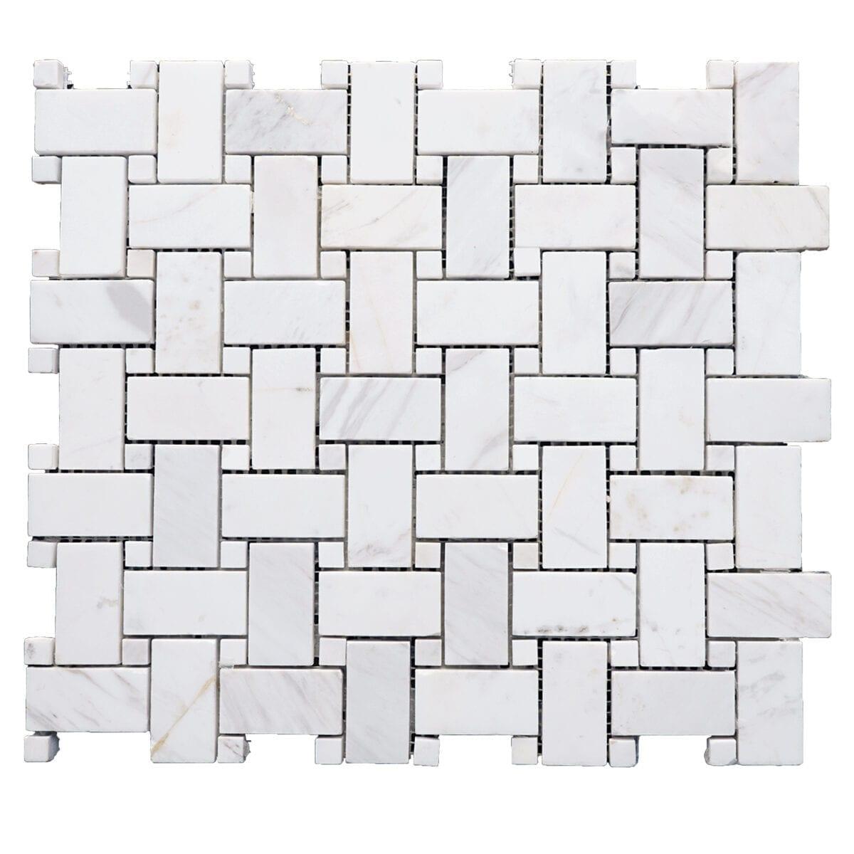 M50340 Tapua Basket White Carrara