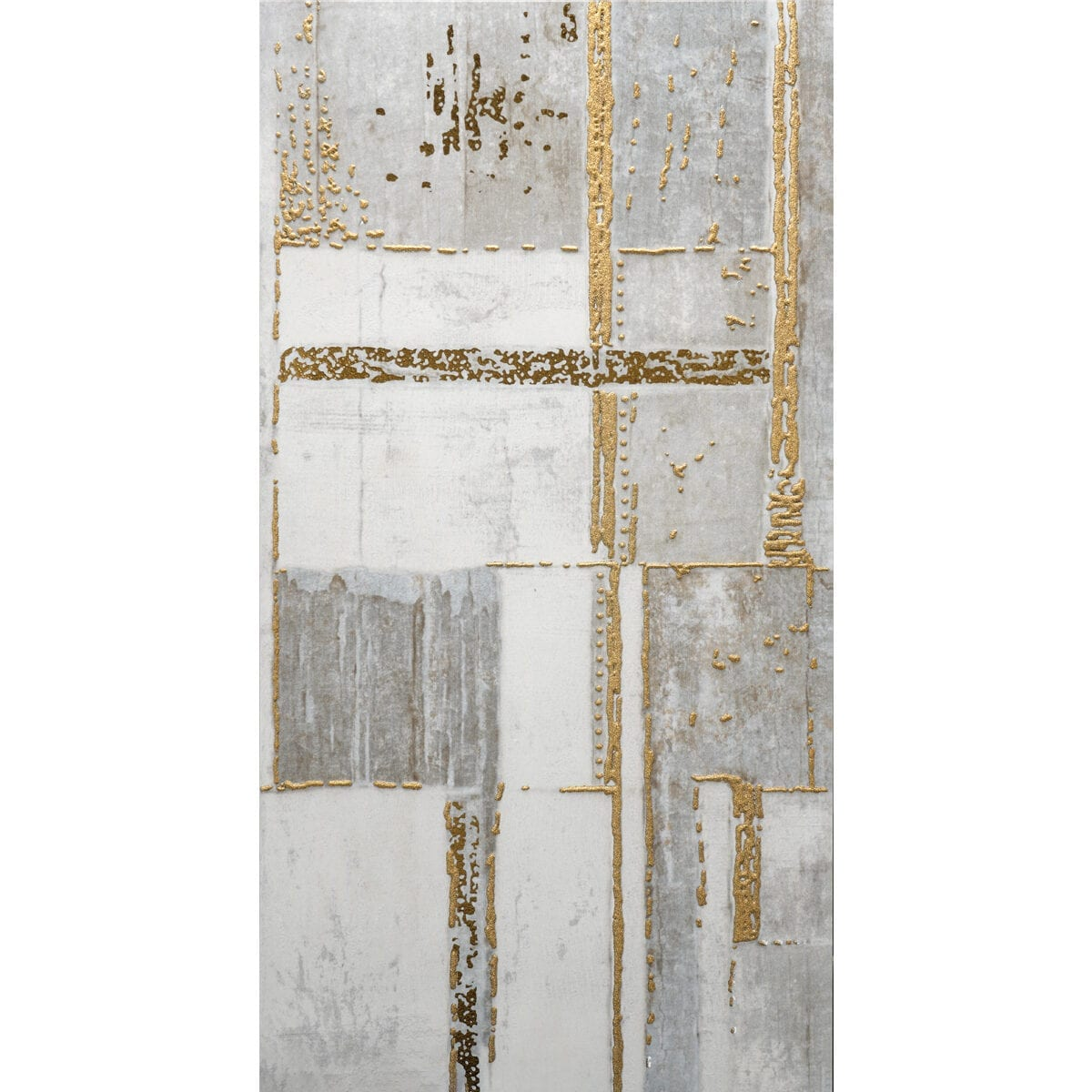 Giselle grey gold 12x24 D50600