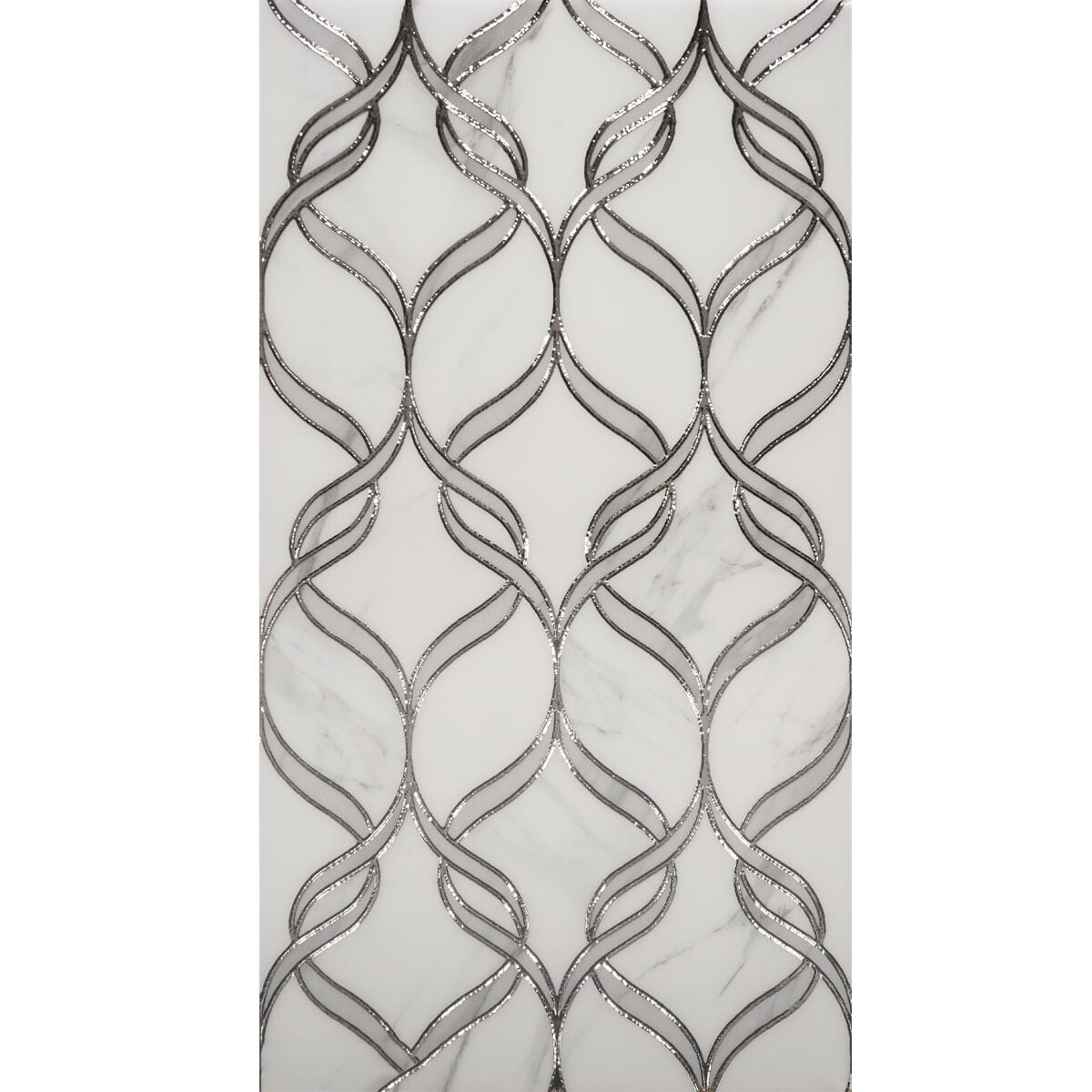 Zigurat white grey 12x24 D50601 1