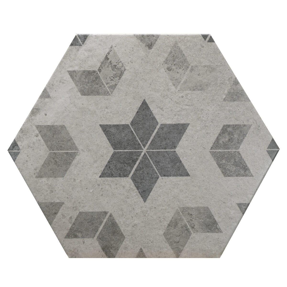 hexagon colonial matte d00153