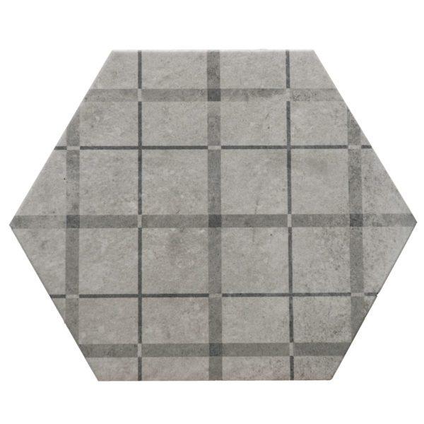 hexagon giglio matte d00156