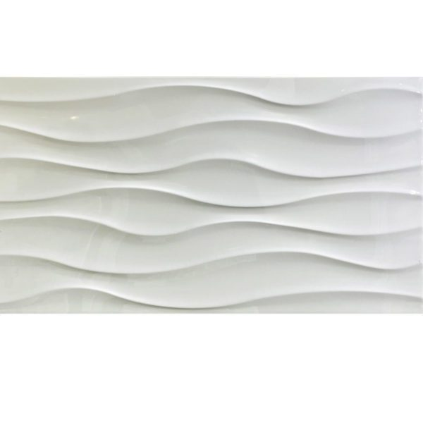 AQUISTIC CHINA WHITE 12X24 WHITE GLOSSY