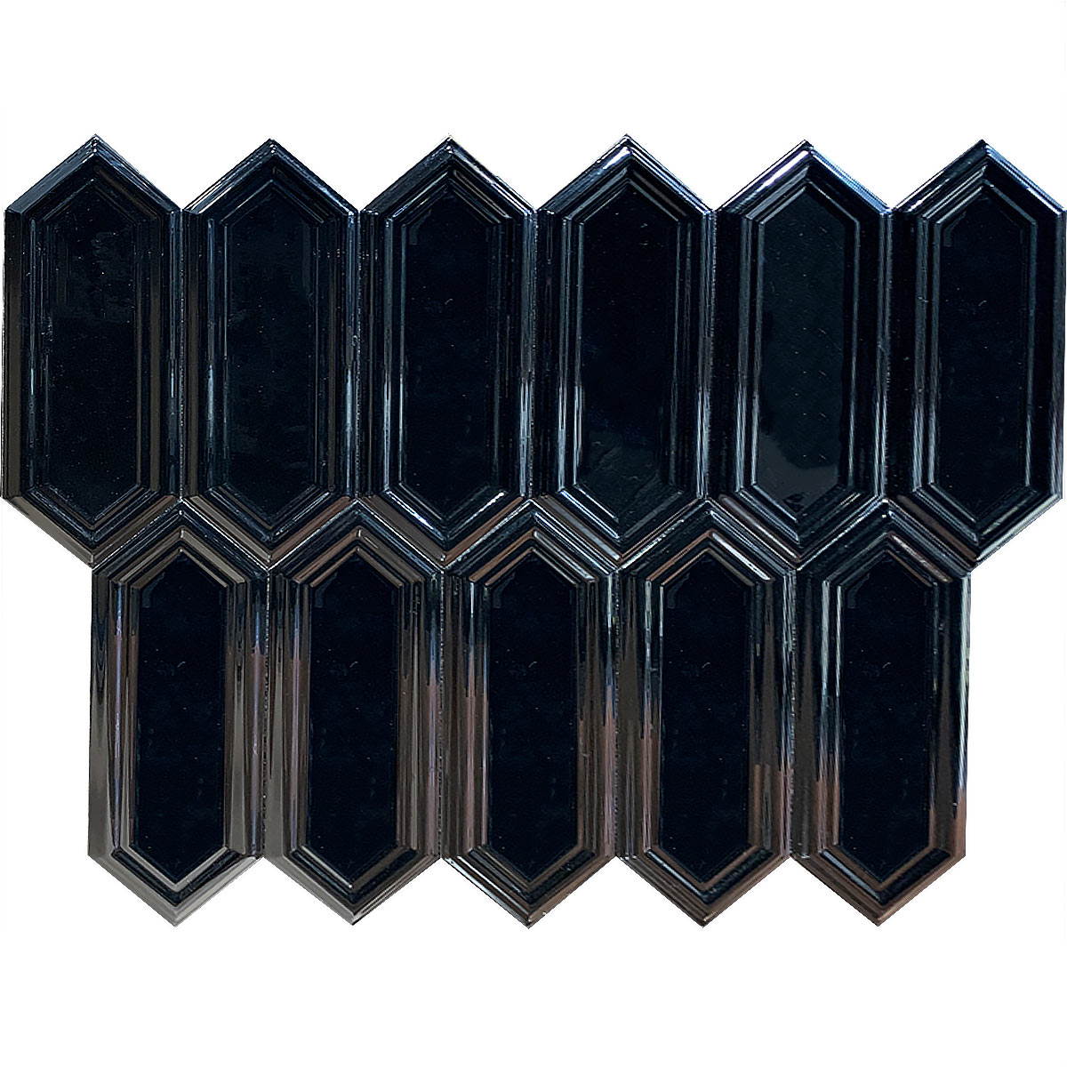 D00088 DUCT 3D BLACK GLOSSY 1