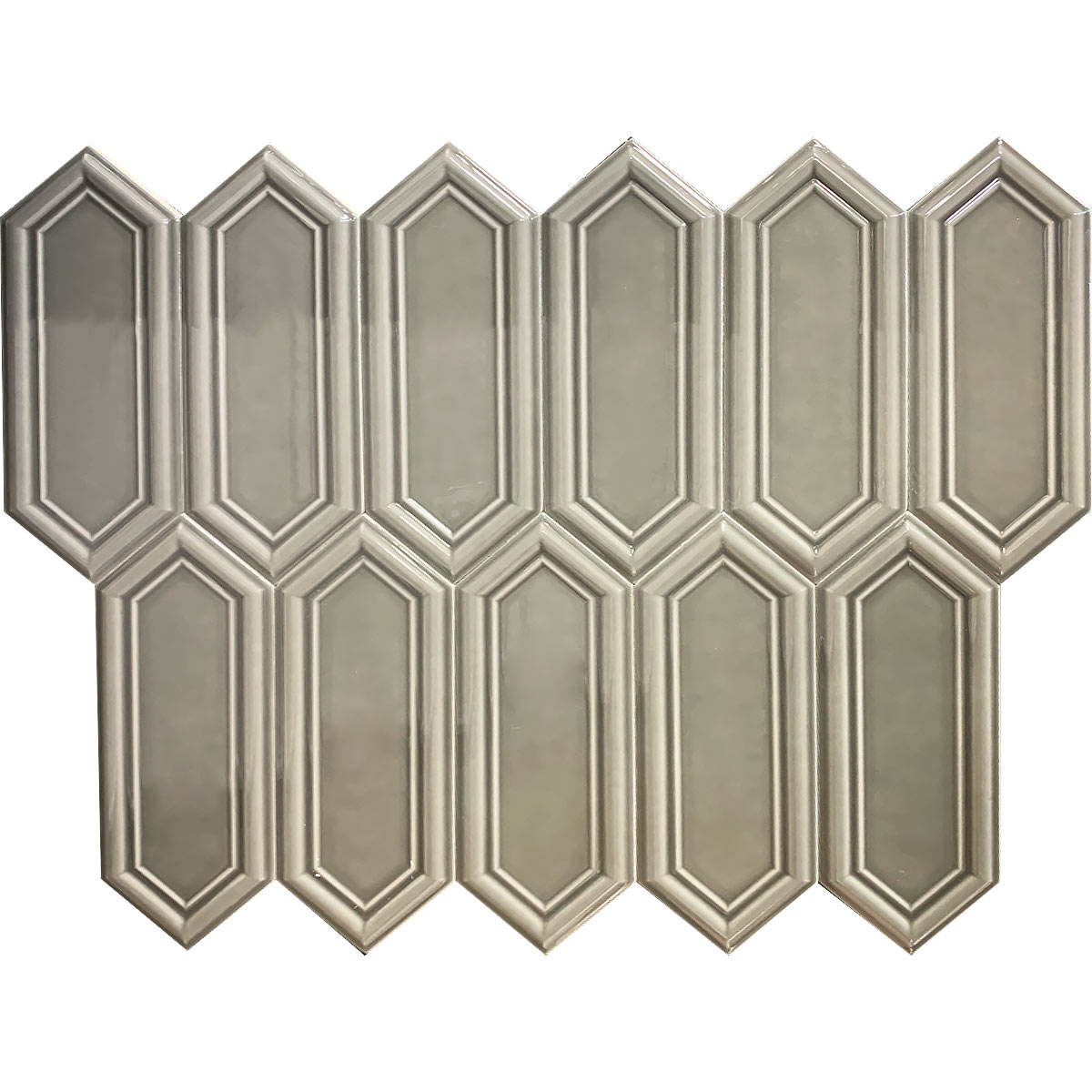 D00089 DUCT 3D GREY GLOSSY 1