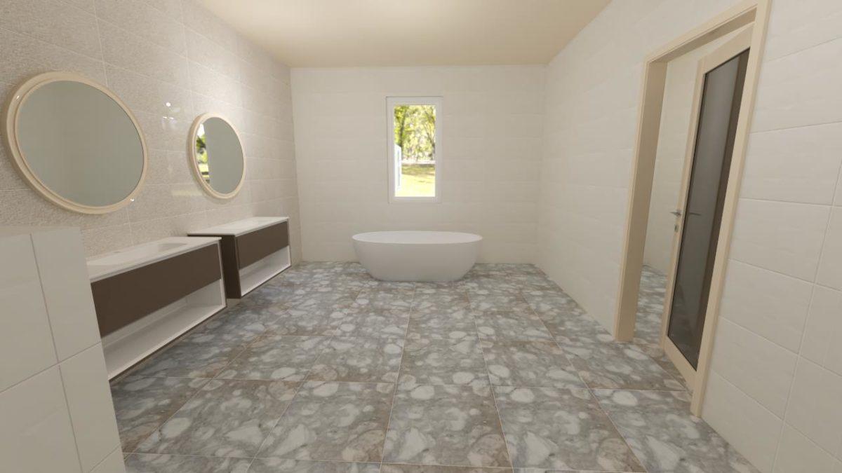 MASTER ENSUITE BATHROOM 1