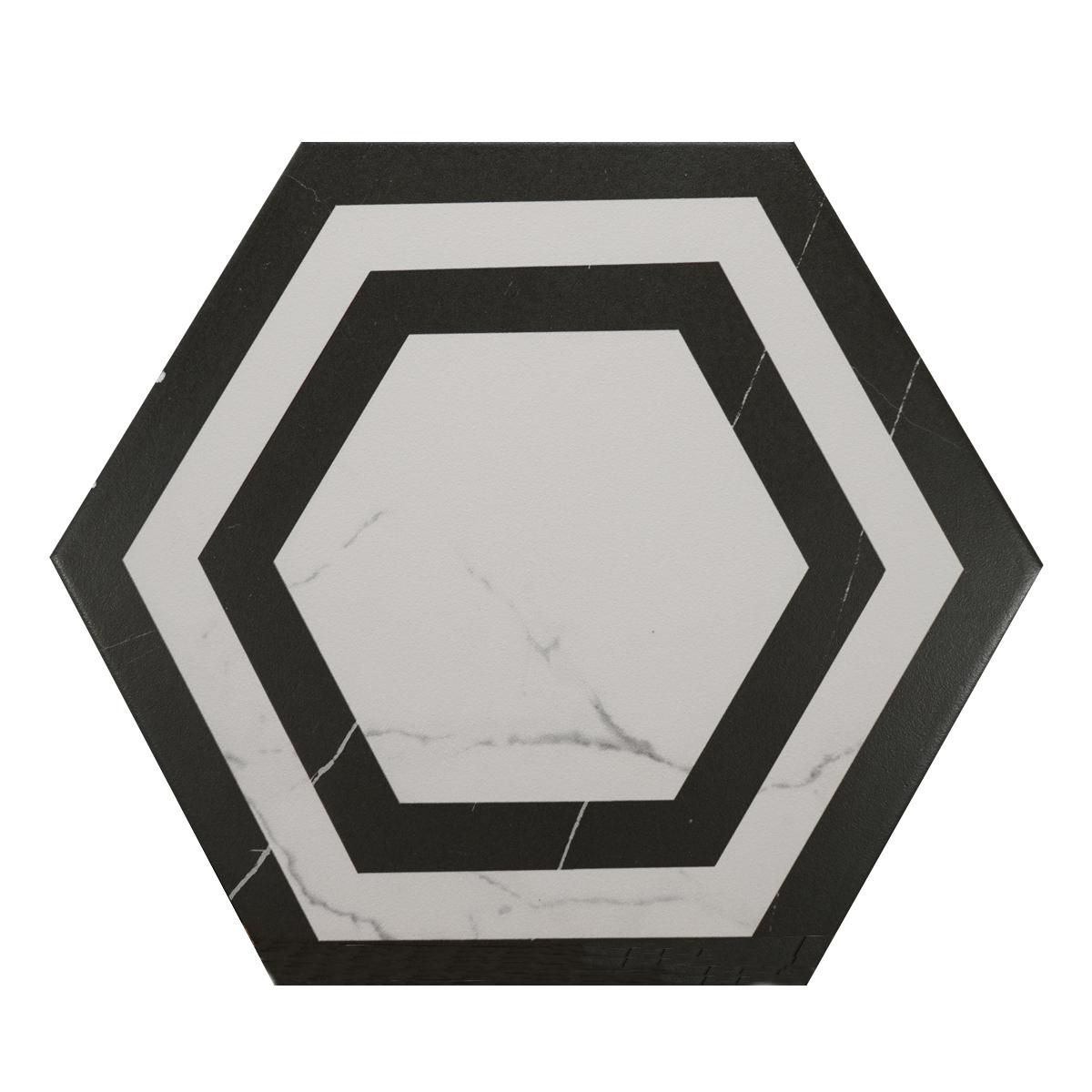 hexagon cornice matte d00152 2