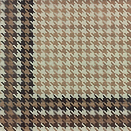 DWOOD HOUNDSTOOTH NATURAL 693 P1