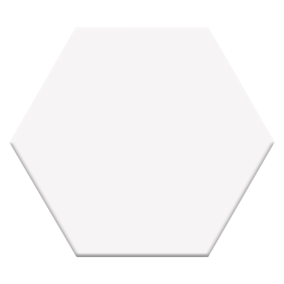 H00001 HEXAGON PURE WHITE P1