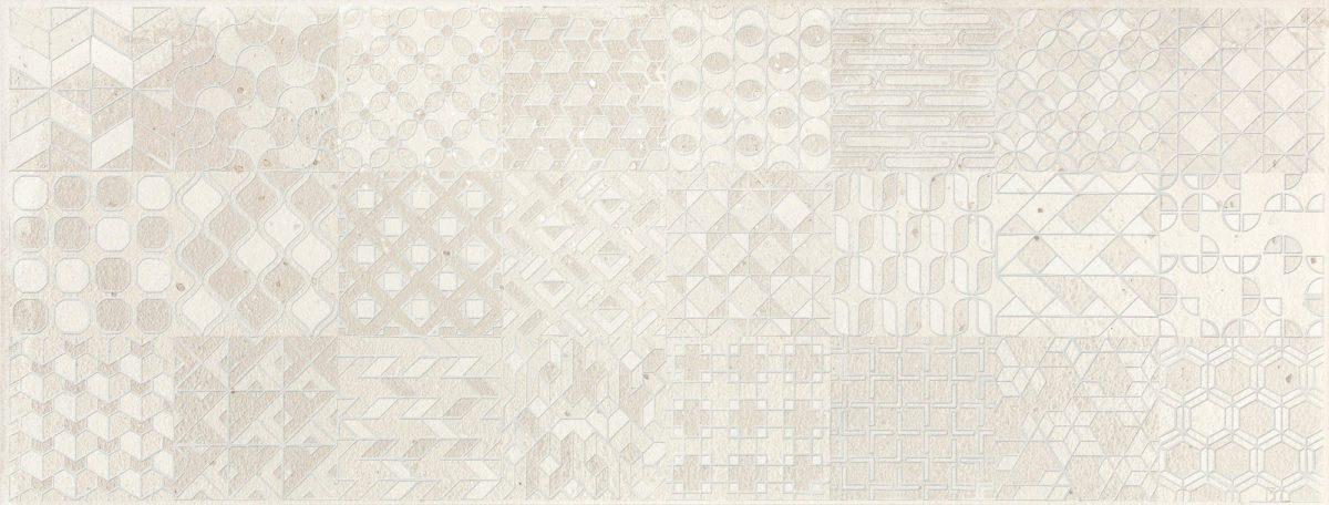 W00302 ELEMENTS TENO WHITE 18X48 P1