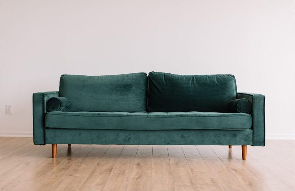 raised sofa